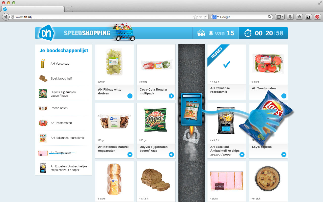 Albert-Heijn-Speedshopping-05-Pakken