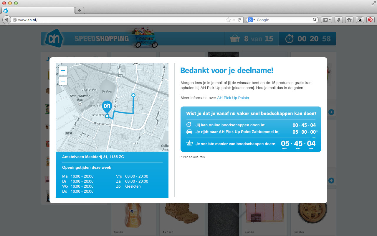 Albert-Heijn-Speedshopping-09-Route